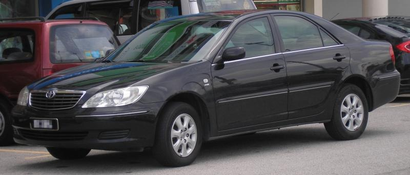File:Toyota Camry (fifth generation) (front), Serdang.jpg
