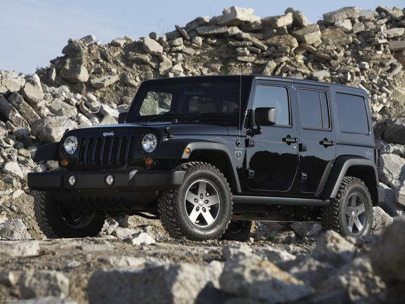 2011 Jeep Wrangler Call of Duty Black Ops