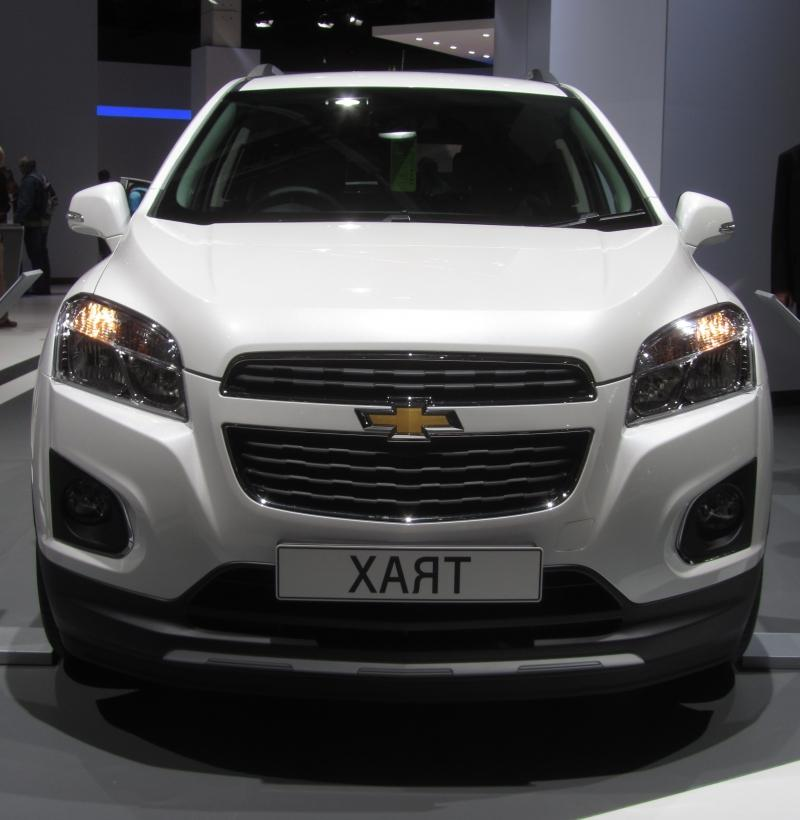 Chevrolet Trax (2013-present) in Canada, Mexico, Germany, South Korea,...