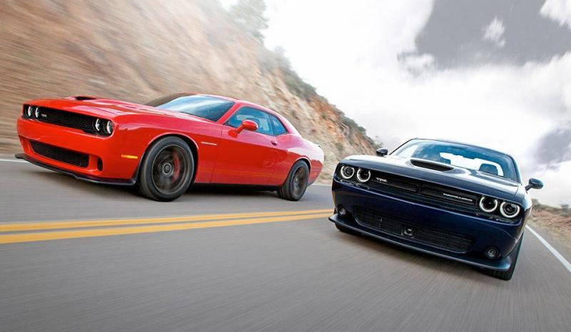 2015 Dodge Challenger SRT Model Lineup
