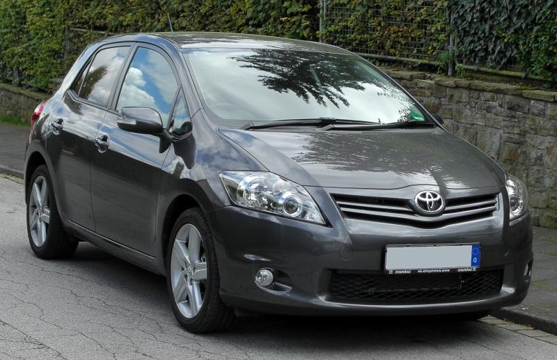Toyota Auris facelift (Germany)
