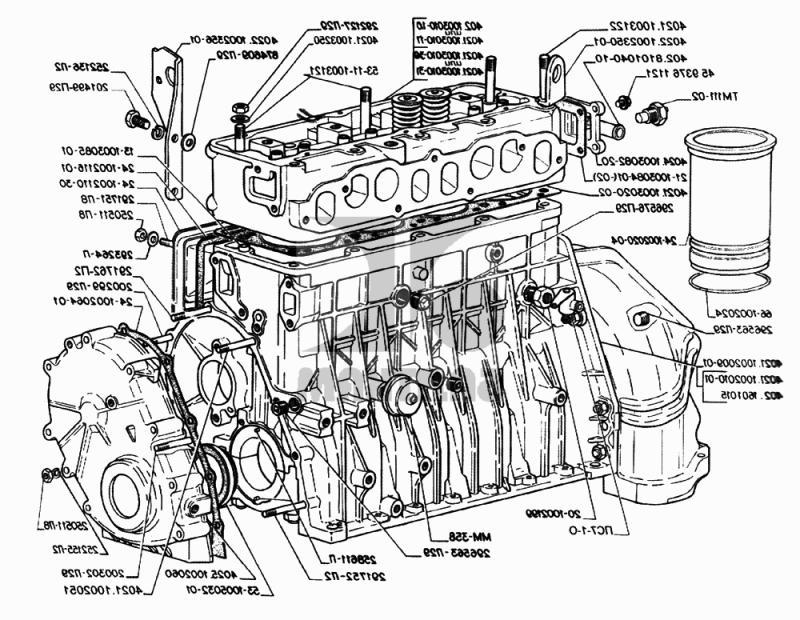 Регулировка клапанов 402 двигатель схема фото 254