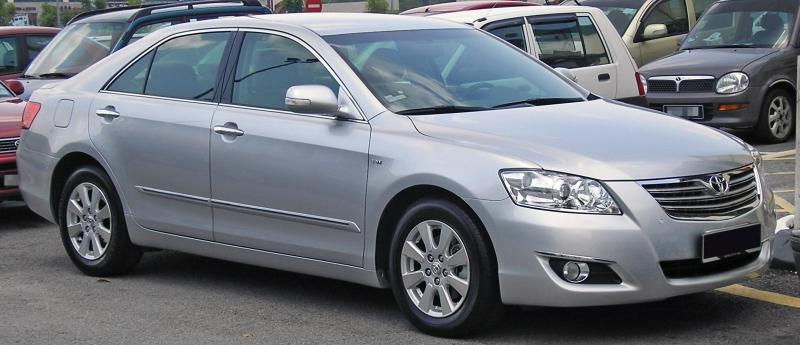 File:Toyota Camry (sixth generation) (front), Serdang.jpg