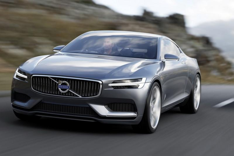 Volvo Concept Coupe A Hybrid Reflection Of The P1800