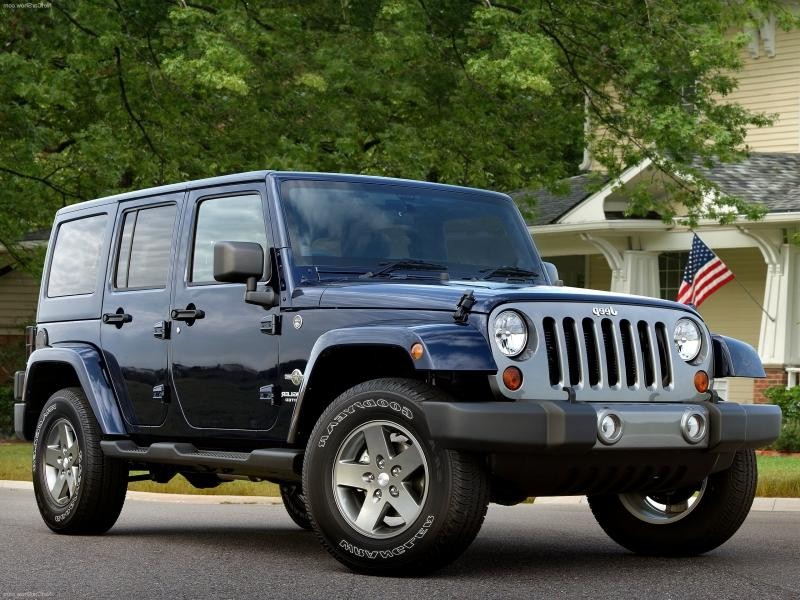 2012 Jeep Wrangler Freedom Edition.